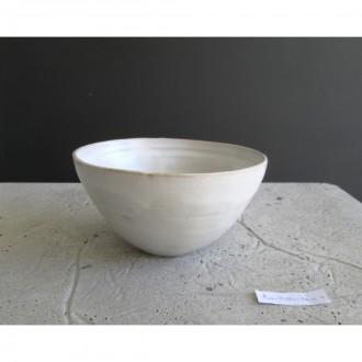 A white ceramic salad bowl | L | Bo_2021_06_4