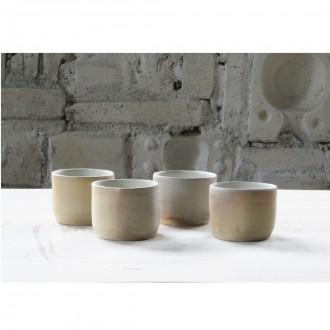 A wood-fired porcelain coffee cup set |Cu_2020_3_set_1