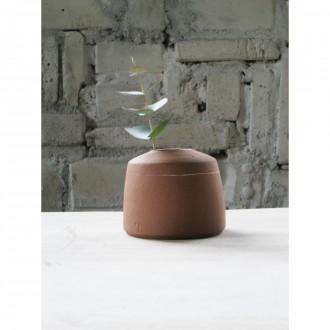 A handmade stoneware bud vase | Va_2020_7_1_1
