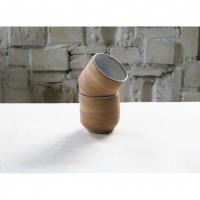 A bronze stoneware coffee cup set |Cu_2020_1_set_2
