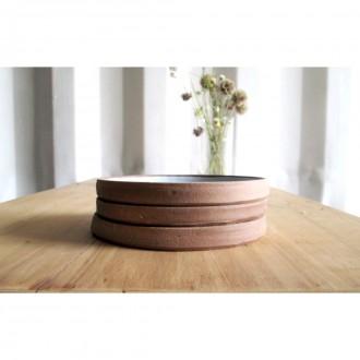 A small handmade stoneware plate set | Pl_2020_11_set_1