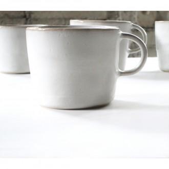 A White Porcelain Coffee Cup Set | Cu_2021_01_set1