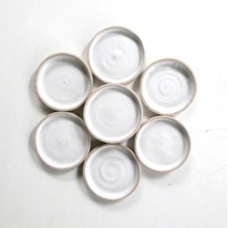 A Porcelain appetizer plate set | PL_2021_01_set1